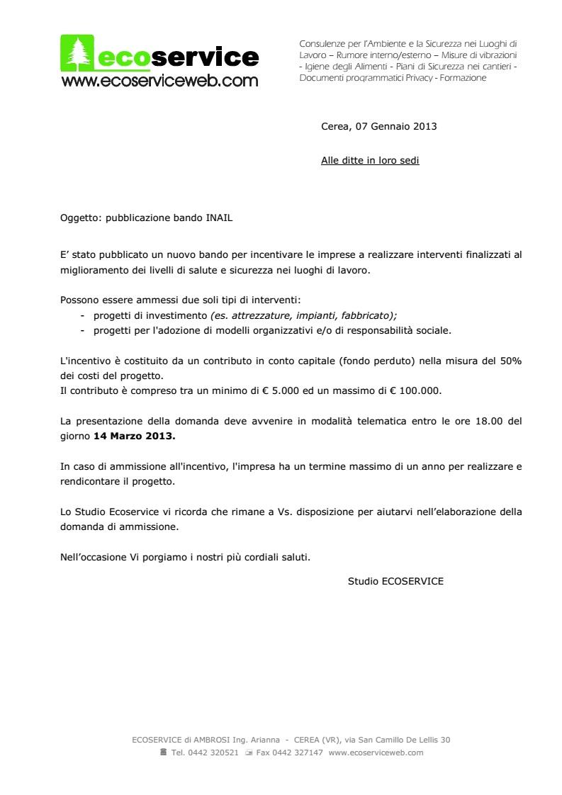 Informativa BANDO INAIL2012_2